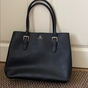 Large Black Kate Spade Tote Bag